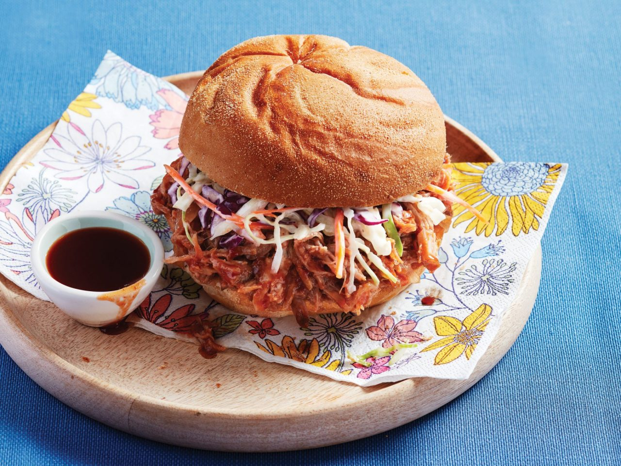 Pulled Pork With Ginger-Bourbon Sauce