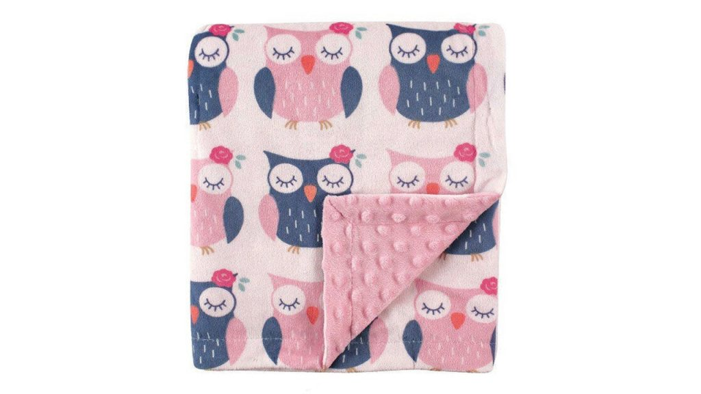 owl print weighted blanket
