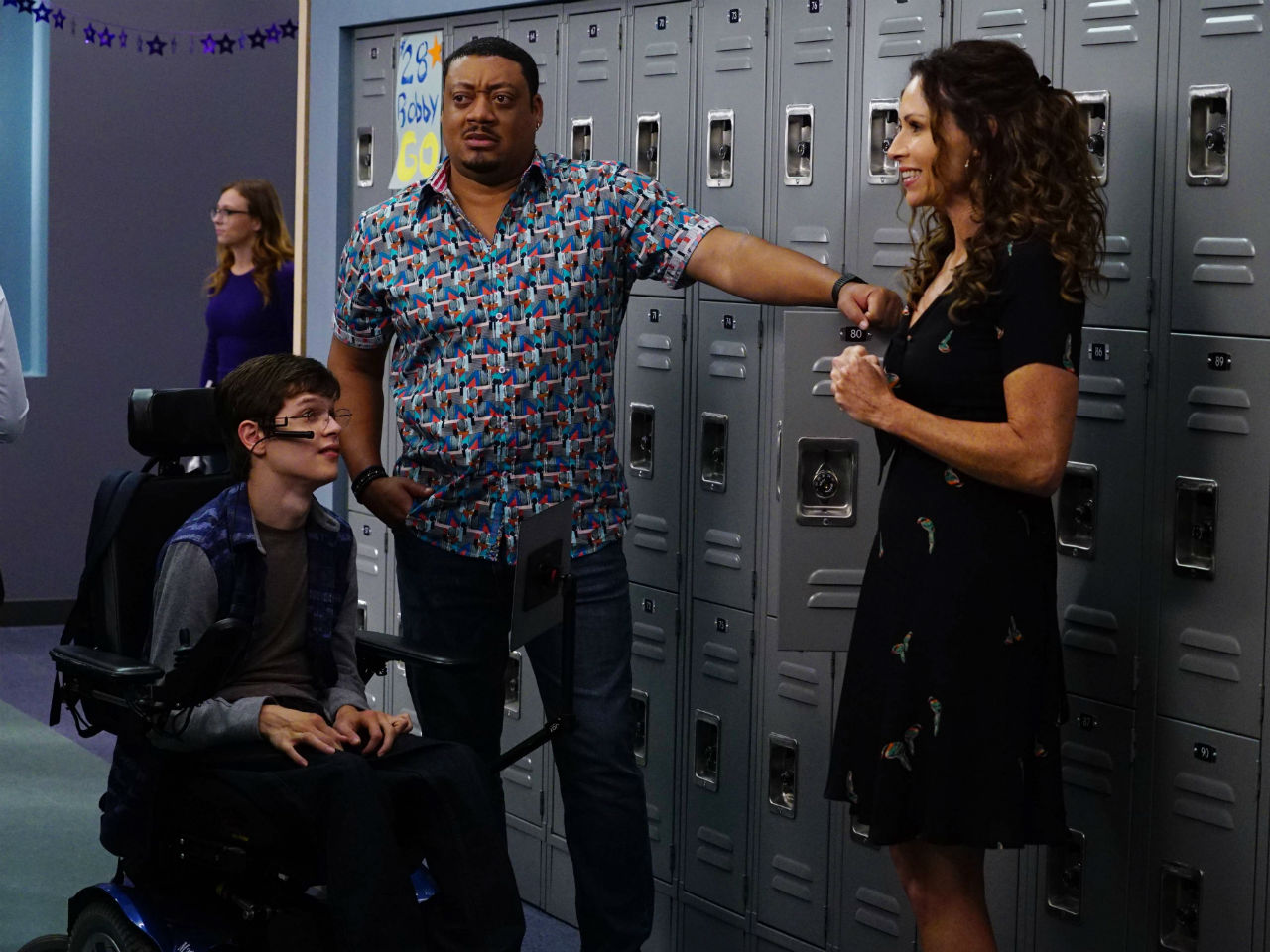 still from television show speechless