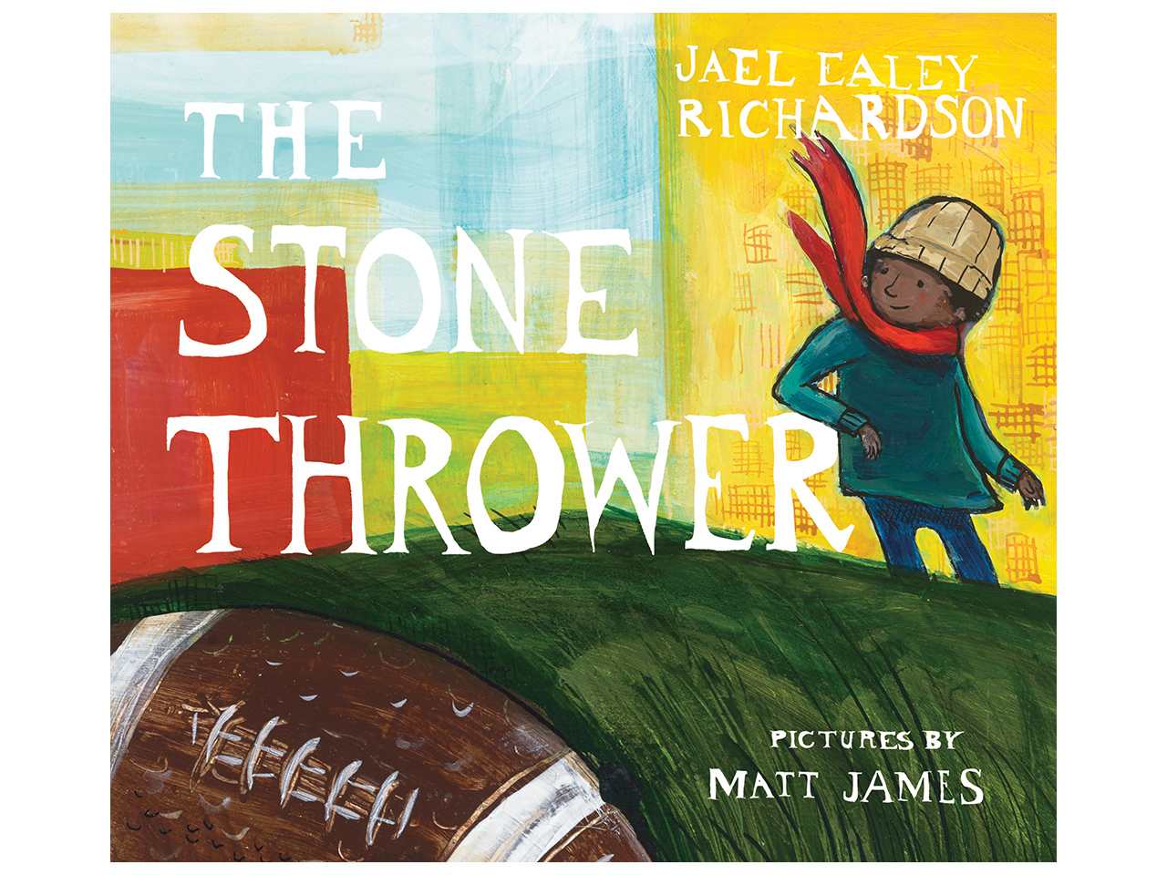 Cover art for the book, The Stone Thrower