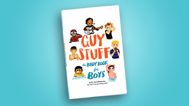 cover art for Guy Stuff: the body book for boys