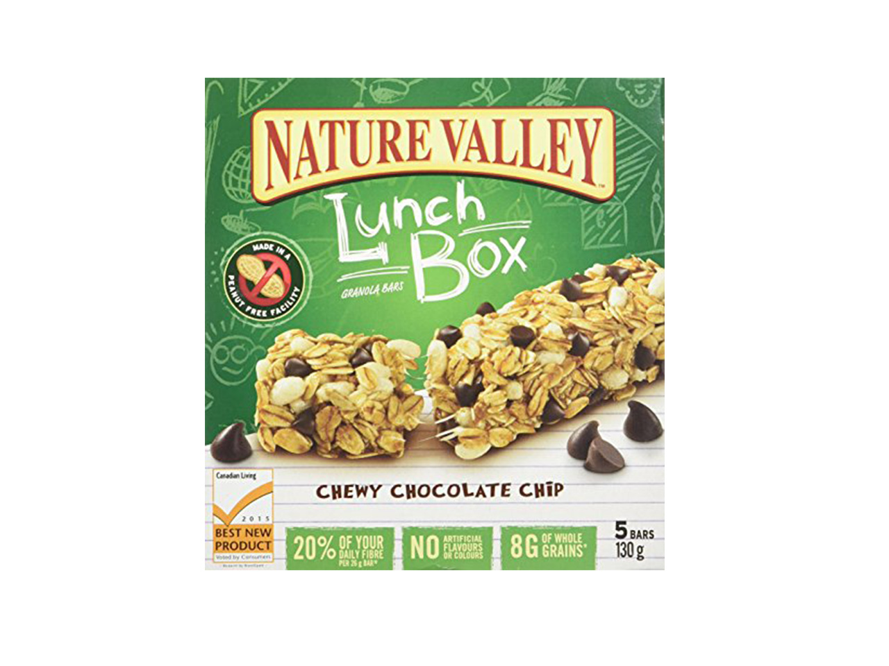 Superbe Nature Valley Lunchbox Granola Bars Chocolate Chip (nut Free)