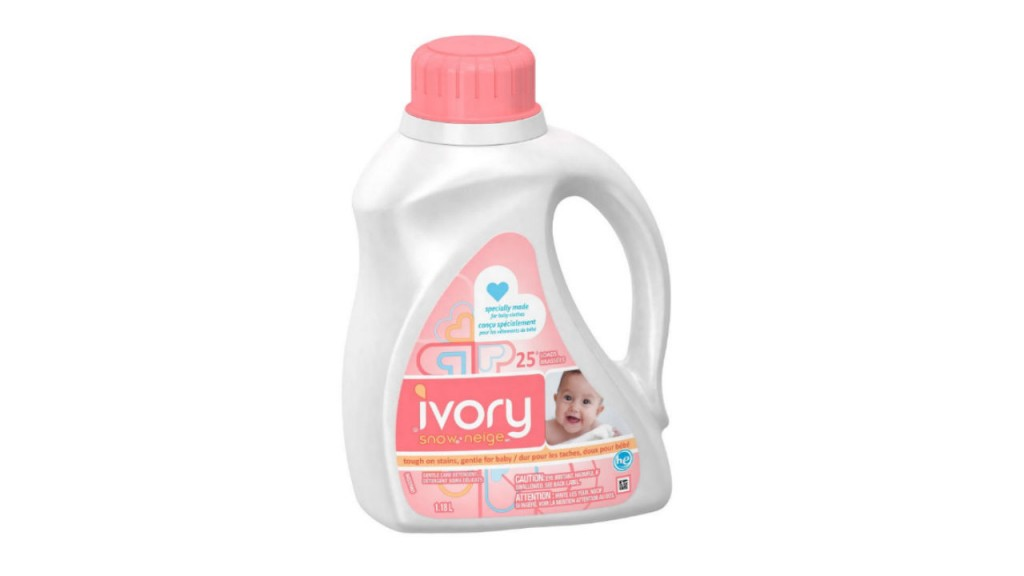 Ivory Snow Stage 1 Newborn Liquid Detergent