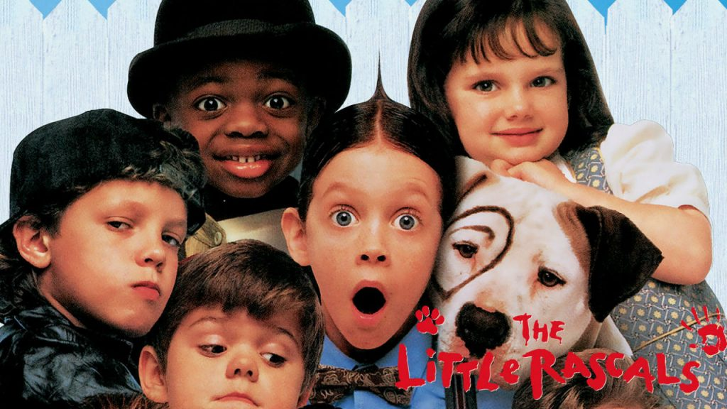 poster for the little rascals movie