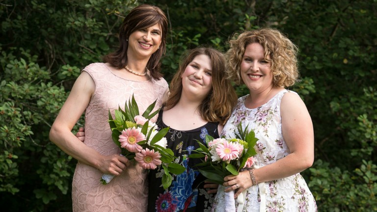 My daughter came out as trans, and it saved my marriage