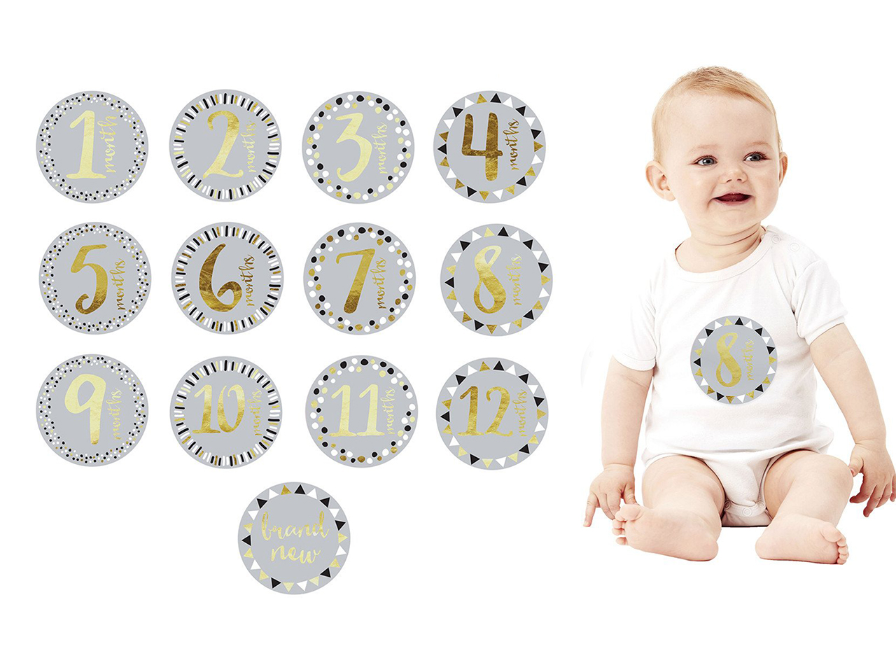 13 Creative Ideas For Taking Monthly Baby Photos
