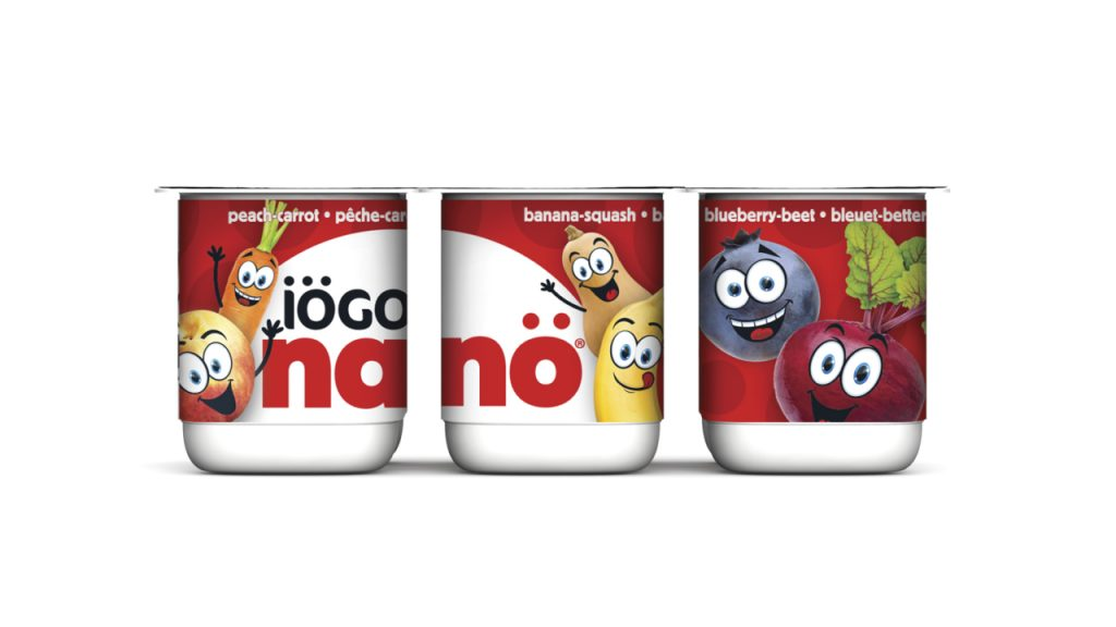IOGO Nano Yogurt cups