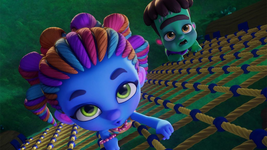 Image from the show Super Monsters on Netflix