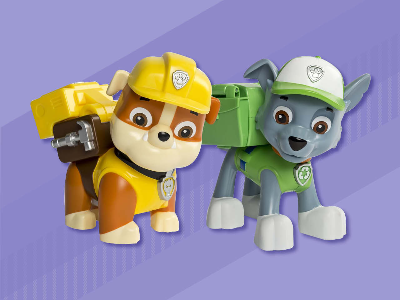 Paw patrol character toys