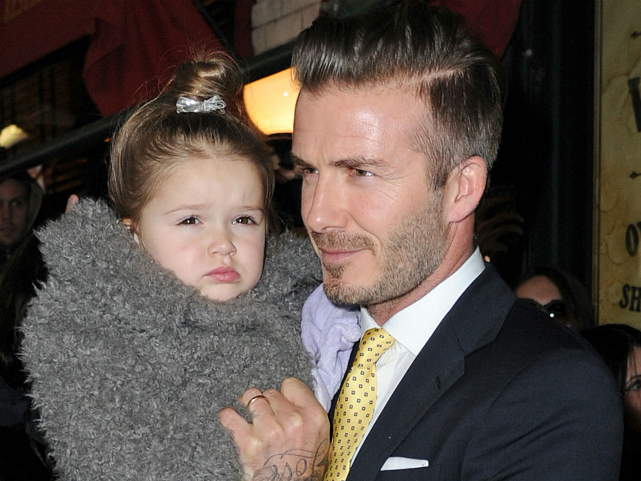Harper Seven, daughter of David and Victoria Beckham