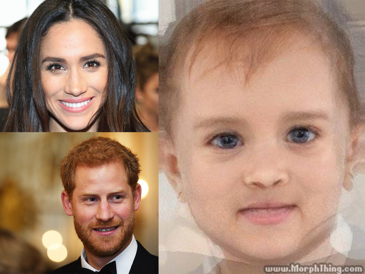 This is what Prince Harry and Meghan Markle's baby will look like