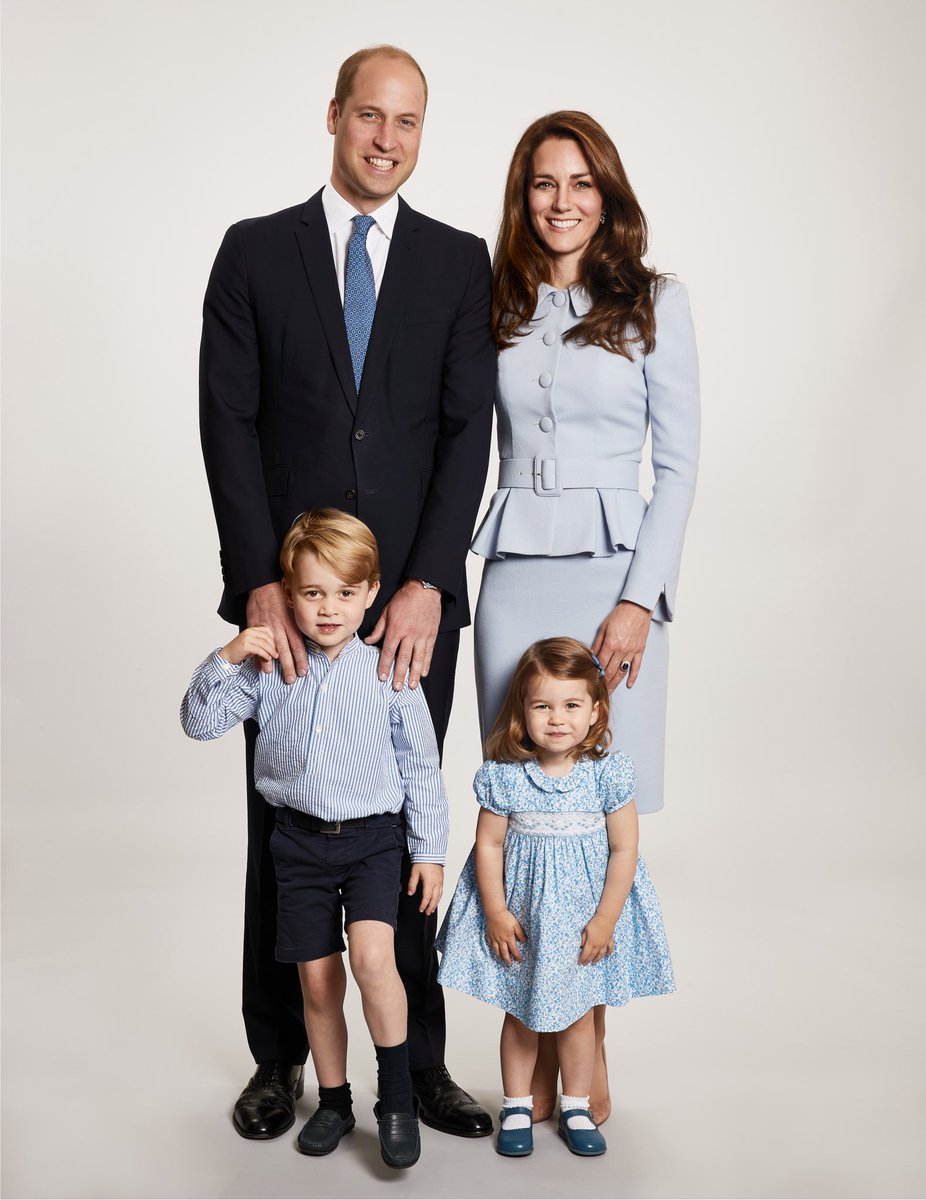 Kate Middleton, Prince William, Prince George and Princess Charlotte