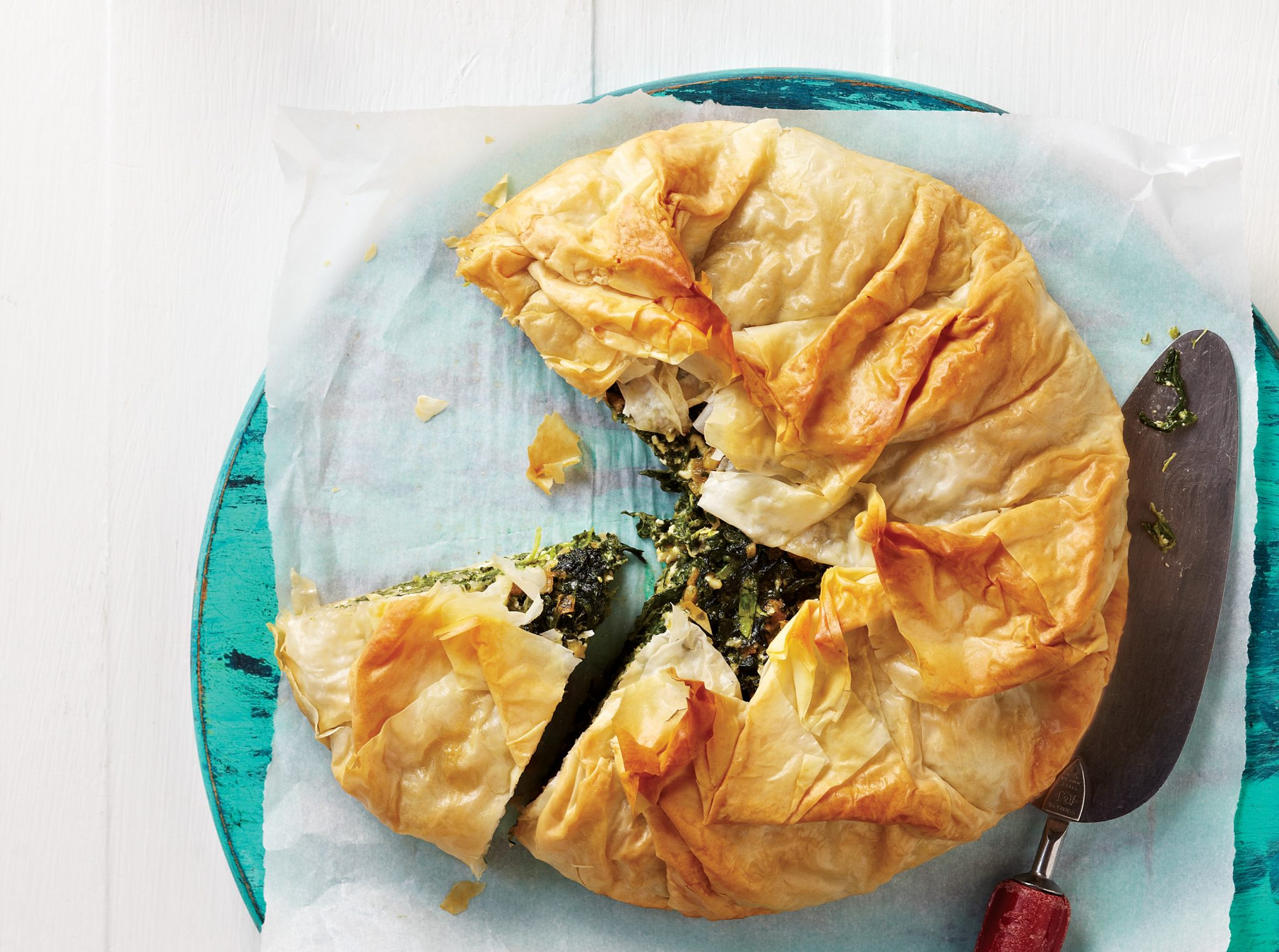 Kid-Approved Spinach Pie