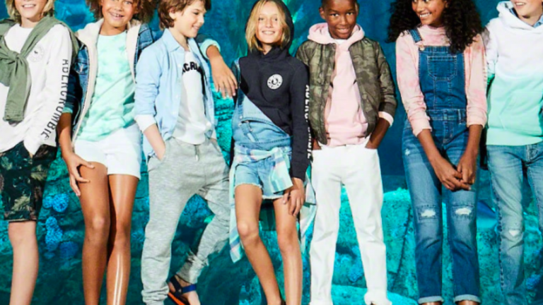 A photo of kids in unisex clothes