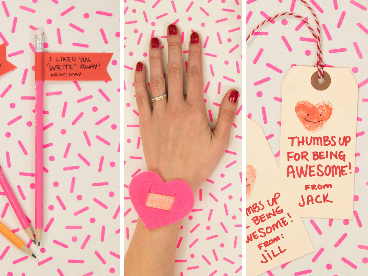 6 easy DIY Valentines for kids (no glue or glitter required)