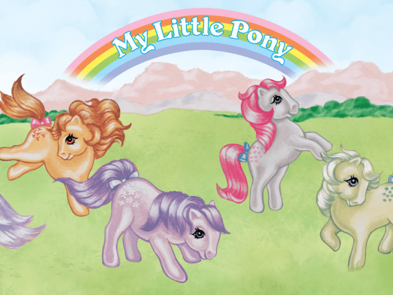 The Original My Little Pony From The 80s Is Back Take All Our Money