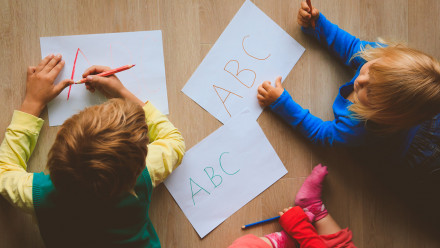 Is this why so many kids are struggling to write their first words?