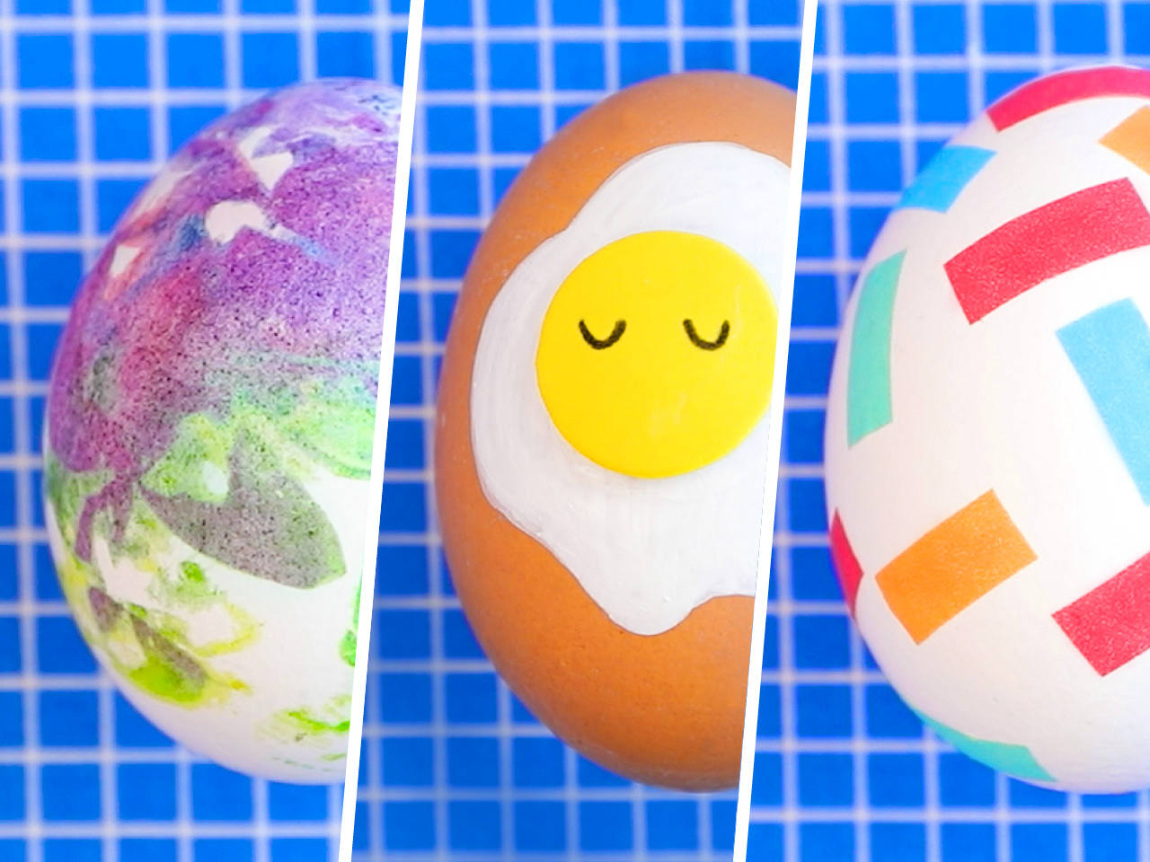 6 mess-free Easter egg decorating ideas