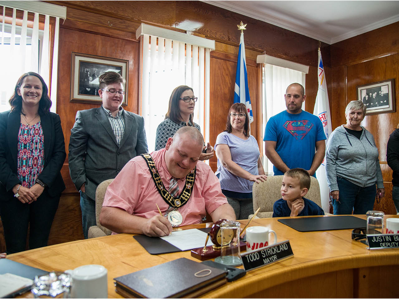 Autism Town - Gallery Image 3 - Former Mayor Todd Strickland officially declares Channel-Port aux Basques an autism-friendly town