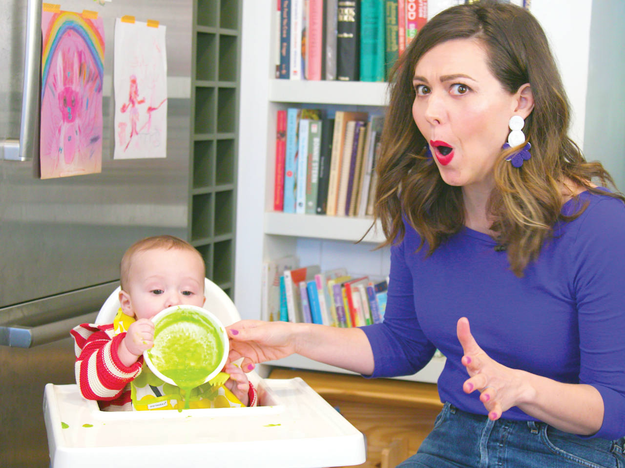 How to reheat baby food (without a microwave)