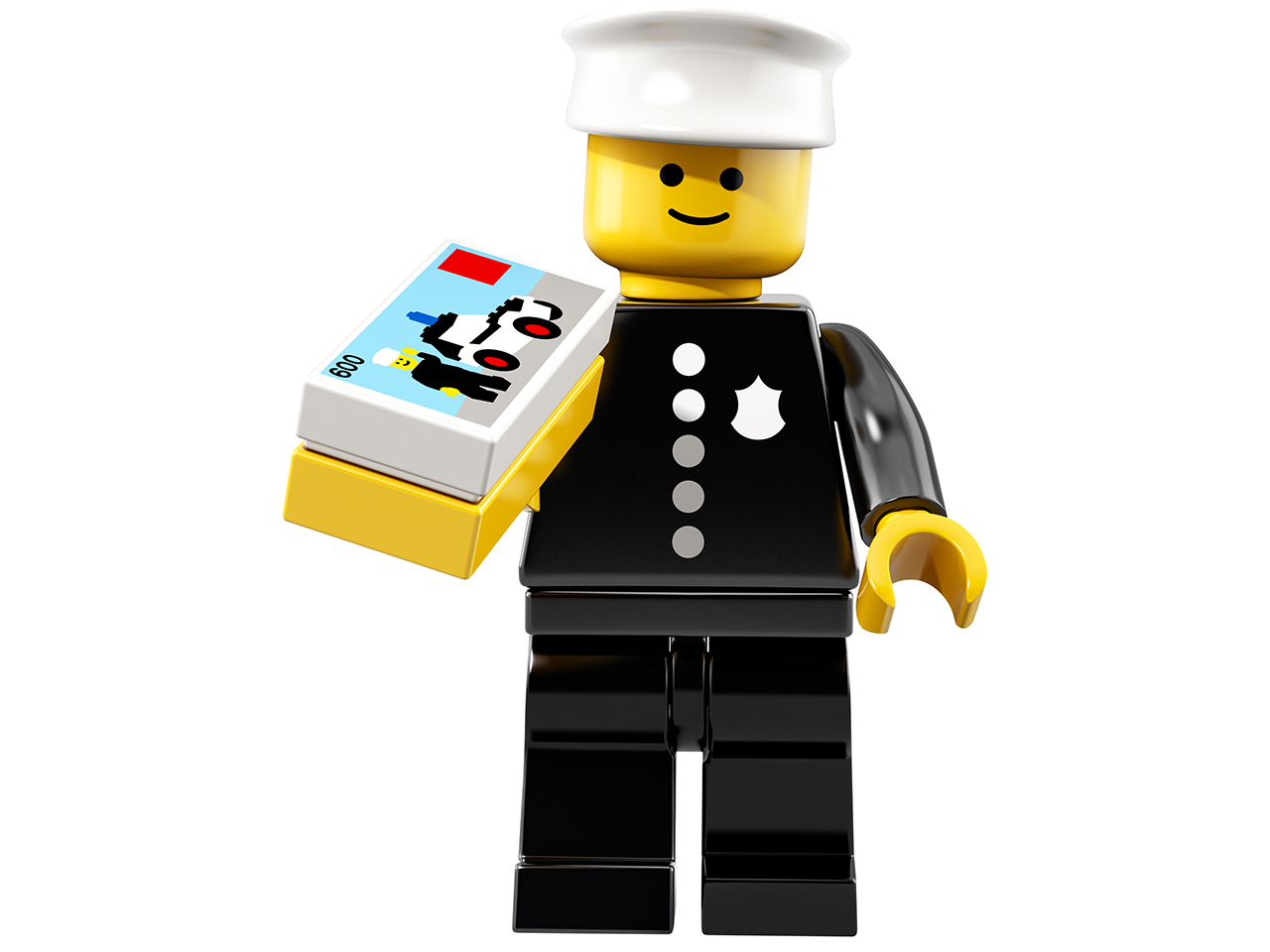 This vintage LEGO Minifigure is being recreated for the tiny character's 40th birthday