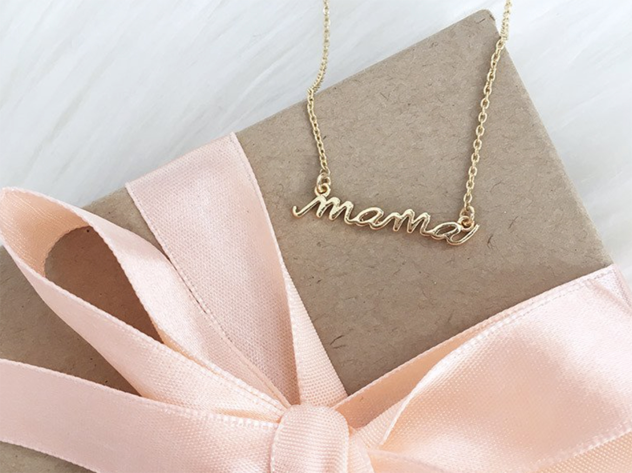 Olive + Piper Mama Necklace