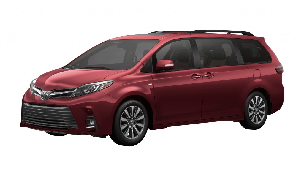 Review Toyota Sienna Minivan Today S Pa