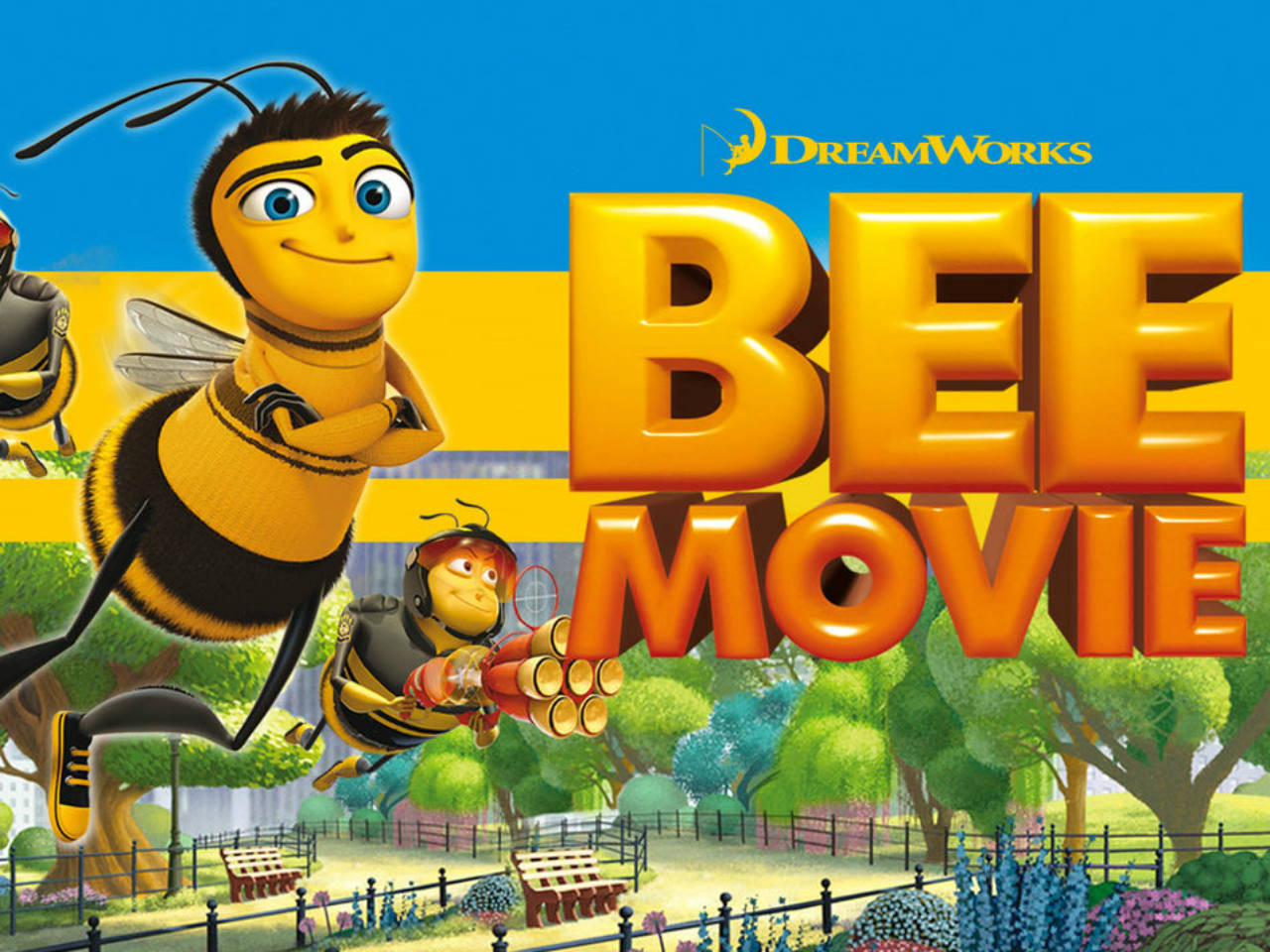 A poster of the Bee Movie