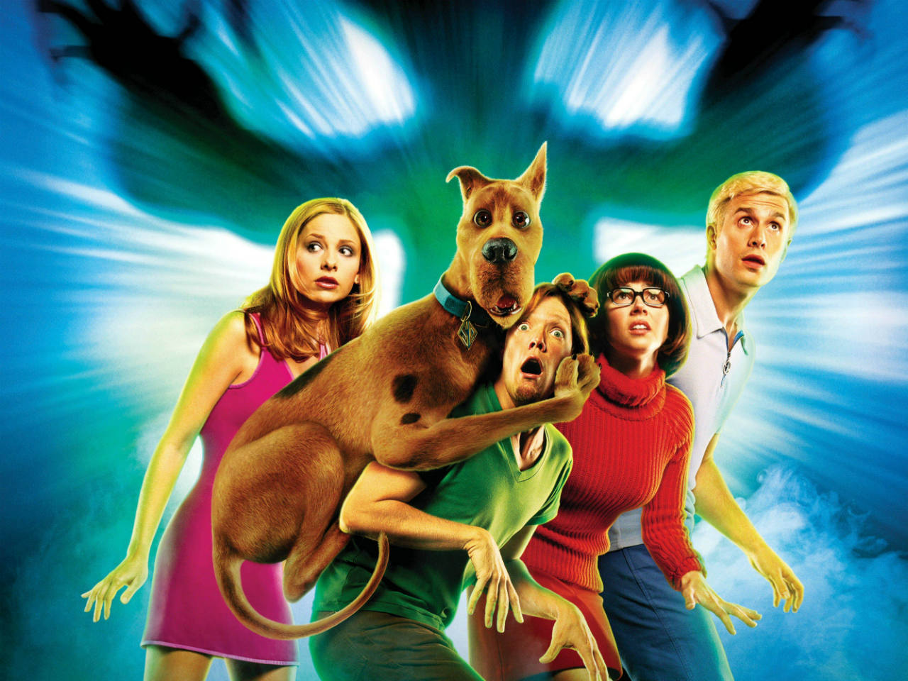 A poster for the kids' movie Scooby Doo