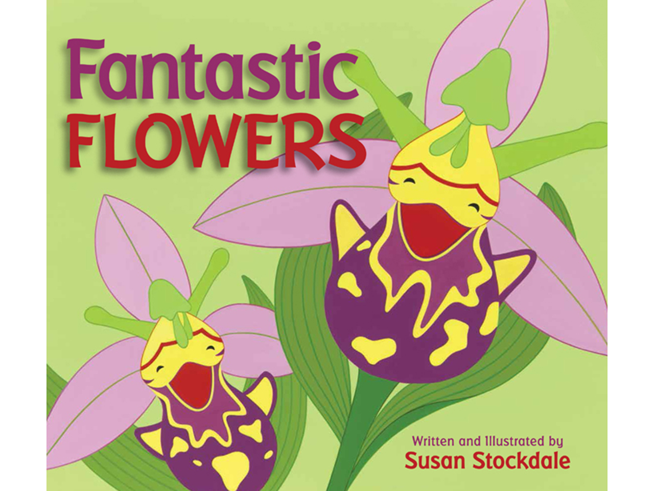 Fantastic Flowers book cover