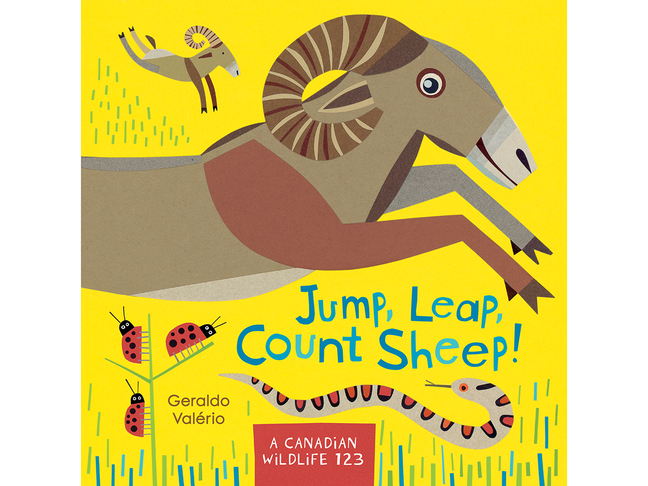 Jump, Leap, Count Sheep! book cover