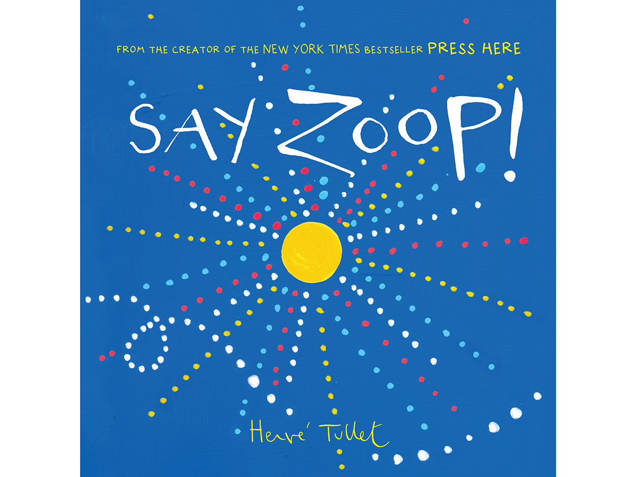 Say Zoop! book cover
