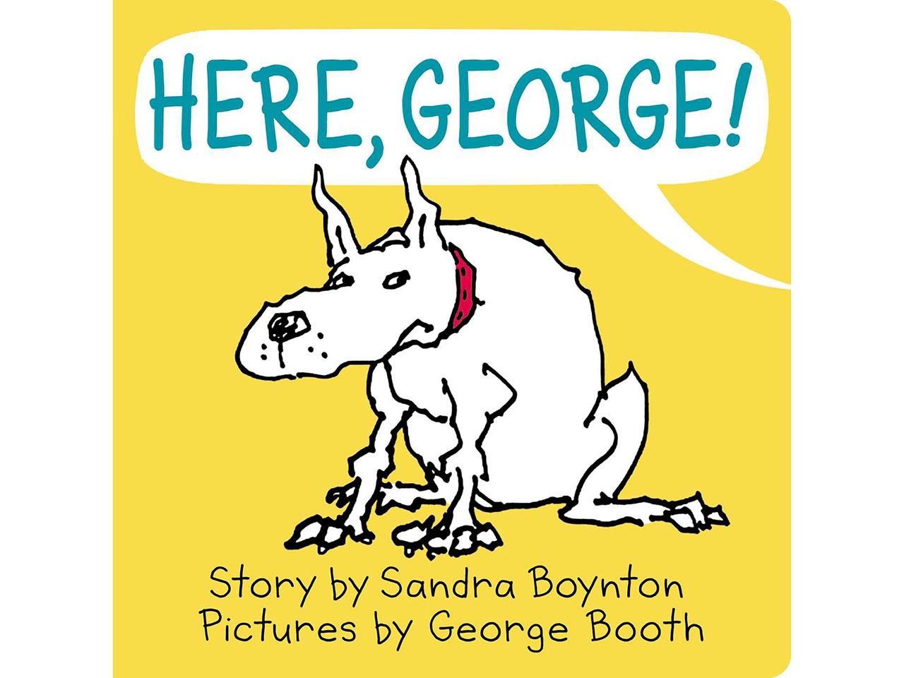 Here, George book cover