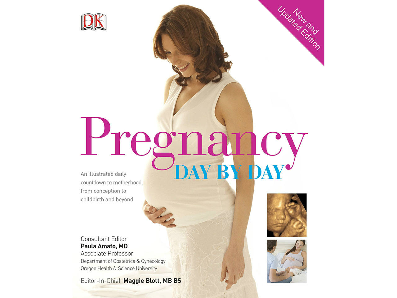 Cover of the pregnancy book Pregnancy Day by Day