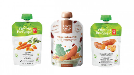RECALL: Select Love Child Organics and PC Organics baby food pouches