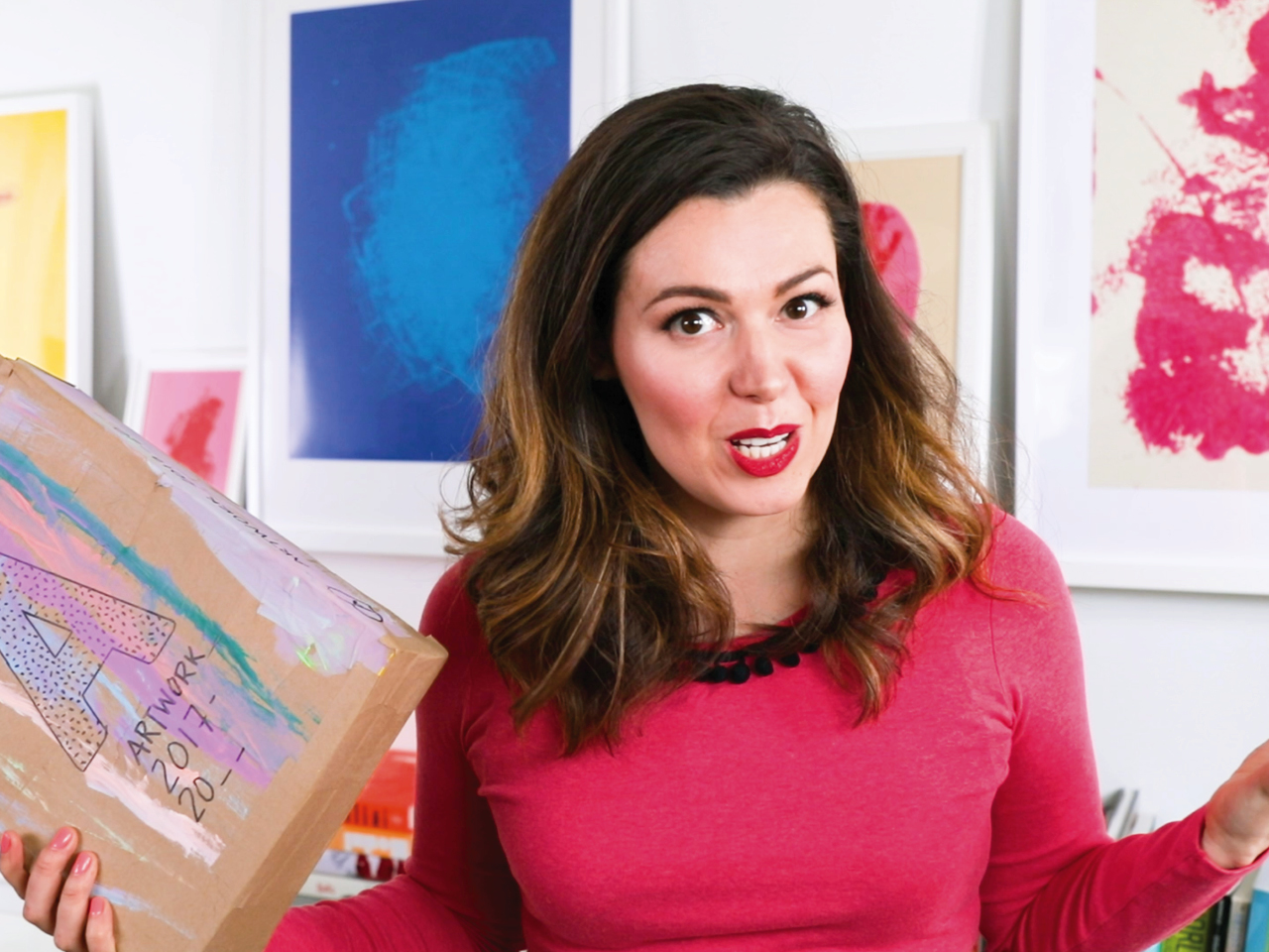 Kids' artwork: How to manage, store and organize it