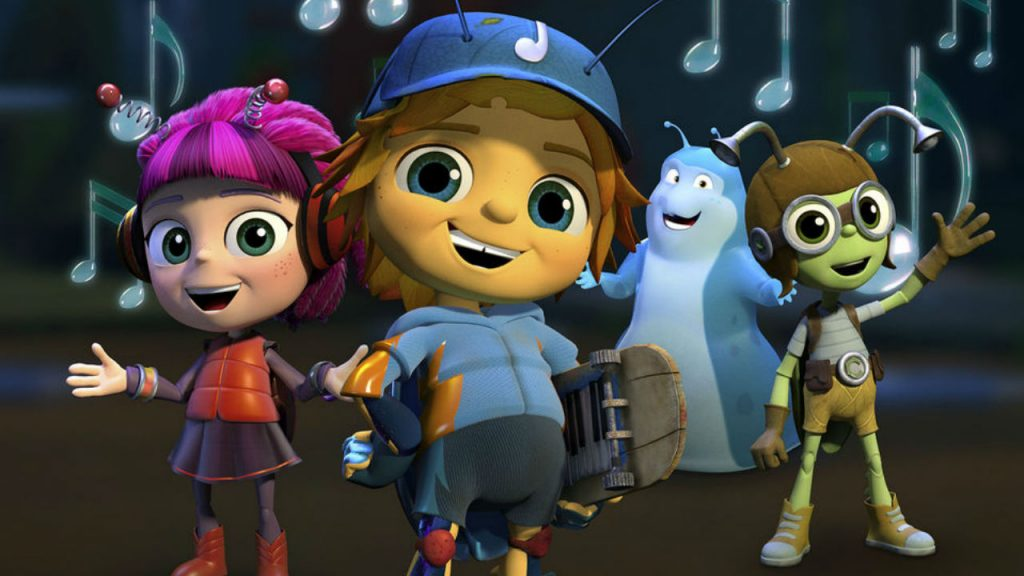 Still from Beat Bugs