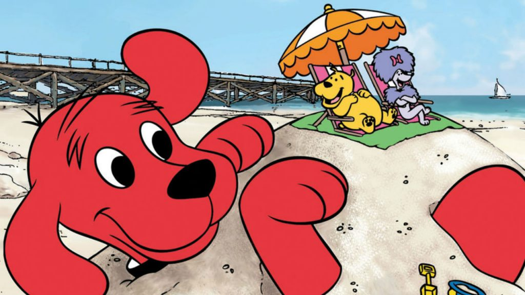 Still from Clifford the big red dog