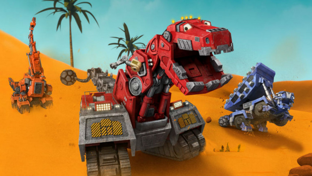 Still from Dinotrux