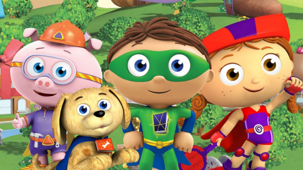 Still from Super Why!
