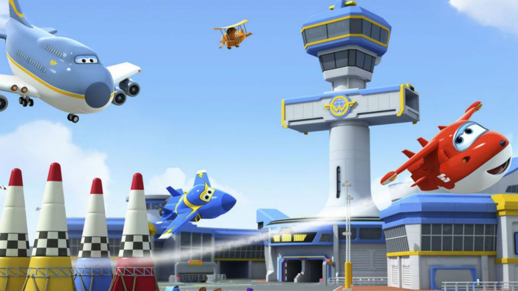 Still from Super Wings