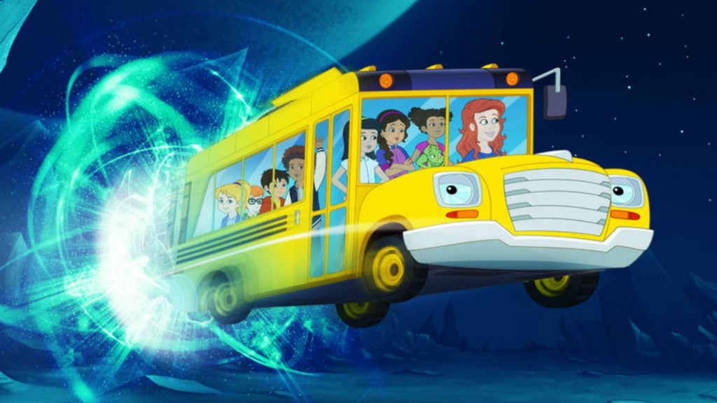 Still from The Magic School Bus rides again