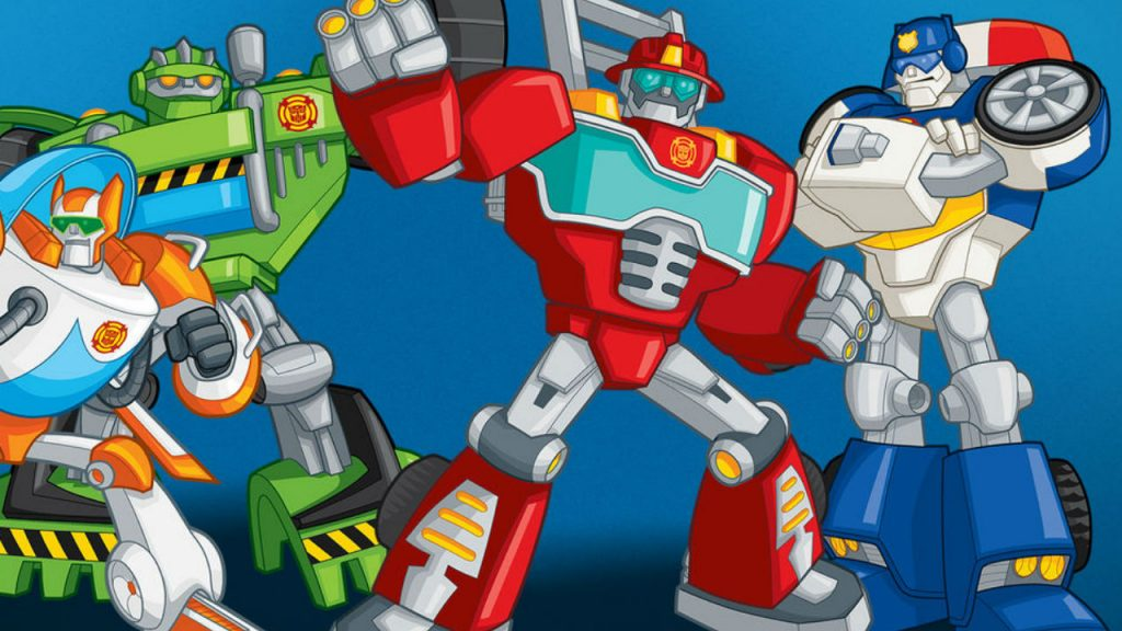 Still from Transformers: Rescue Bots