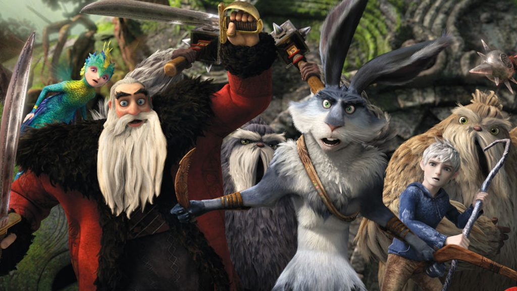 the tooth fairy, santa, easter bunny, and jack frost prepare for battle