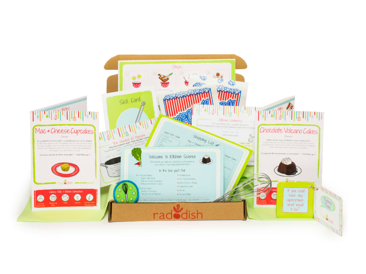 cooking-themed subscription box for kids