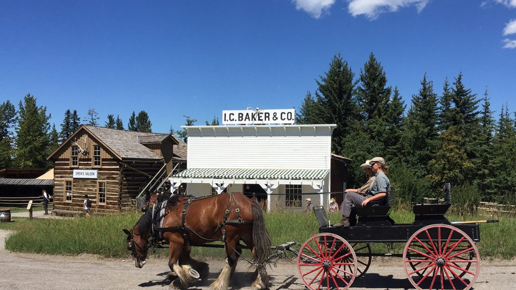 Heritage Park is a trip back in time