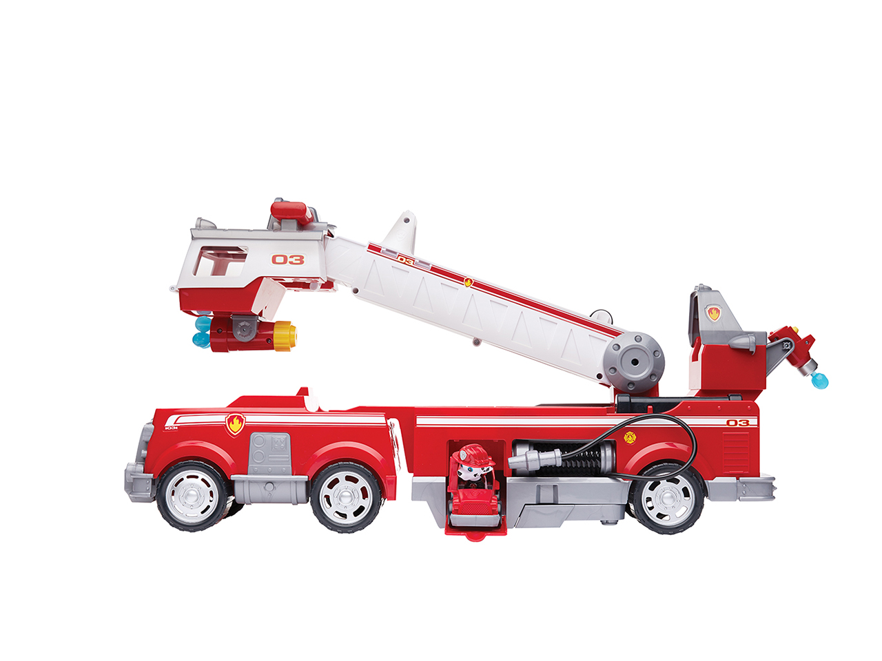 Paw Patrol Ultimate Rescue Fire Truck: A toy firetruck featuring Paw Patrol's Marshall