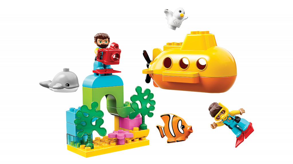 Lego Duplo Submarine Adventure toy set