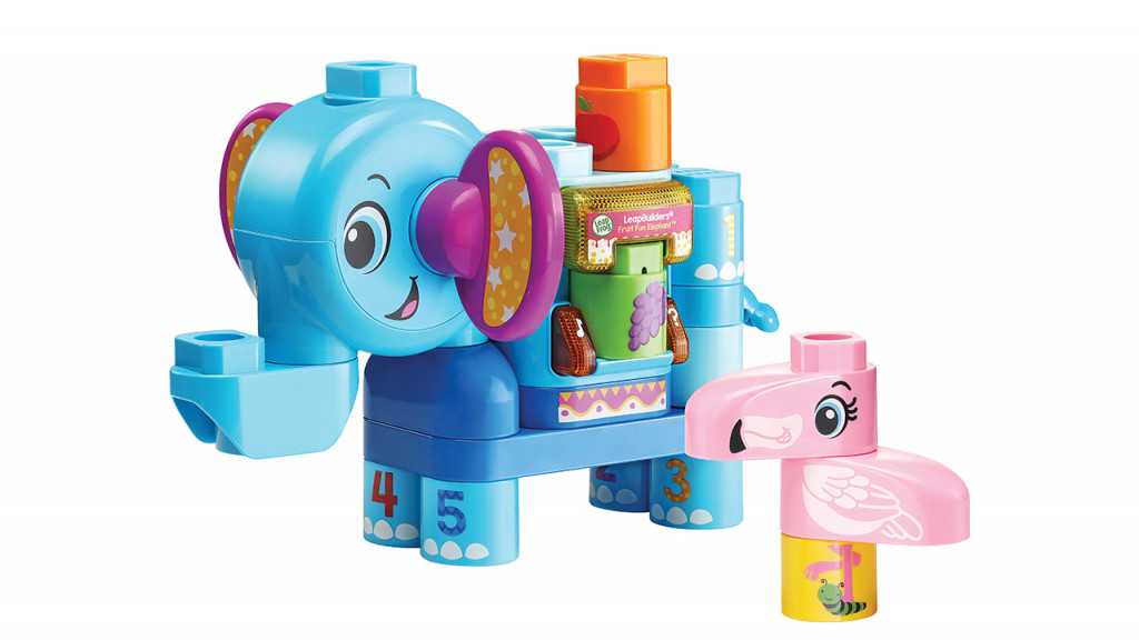 Leapbuilders fruit farm elephant toy