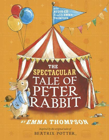 The spectacular tale of pete rabbit- book cover